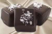 chocolate caramels with sea salt