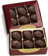 box of chocolate marzipan cremes