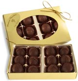 box of chocolate hazelnut cremes